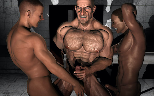 Interracial Gay Porn Game